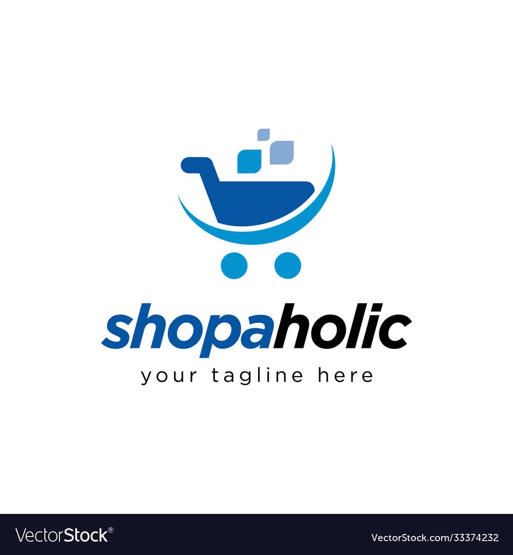 Shopping cart logo design inspiration