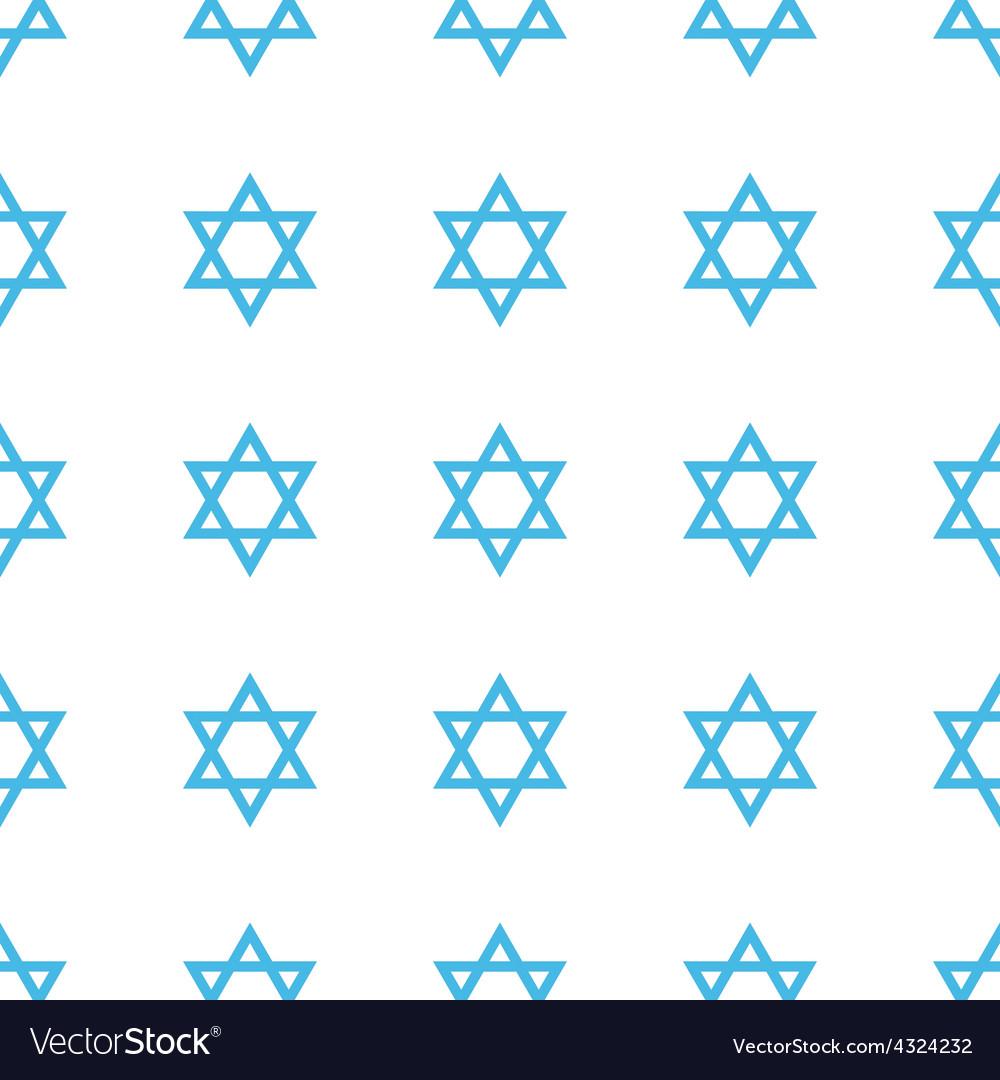 Unique Judaism seamless pattern