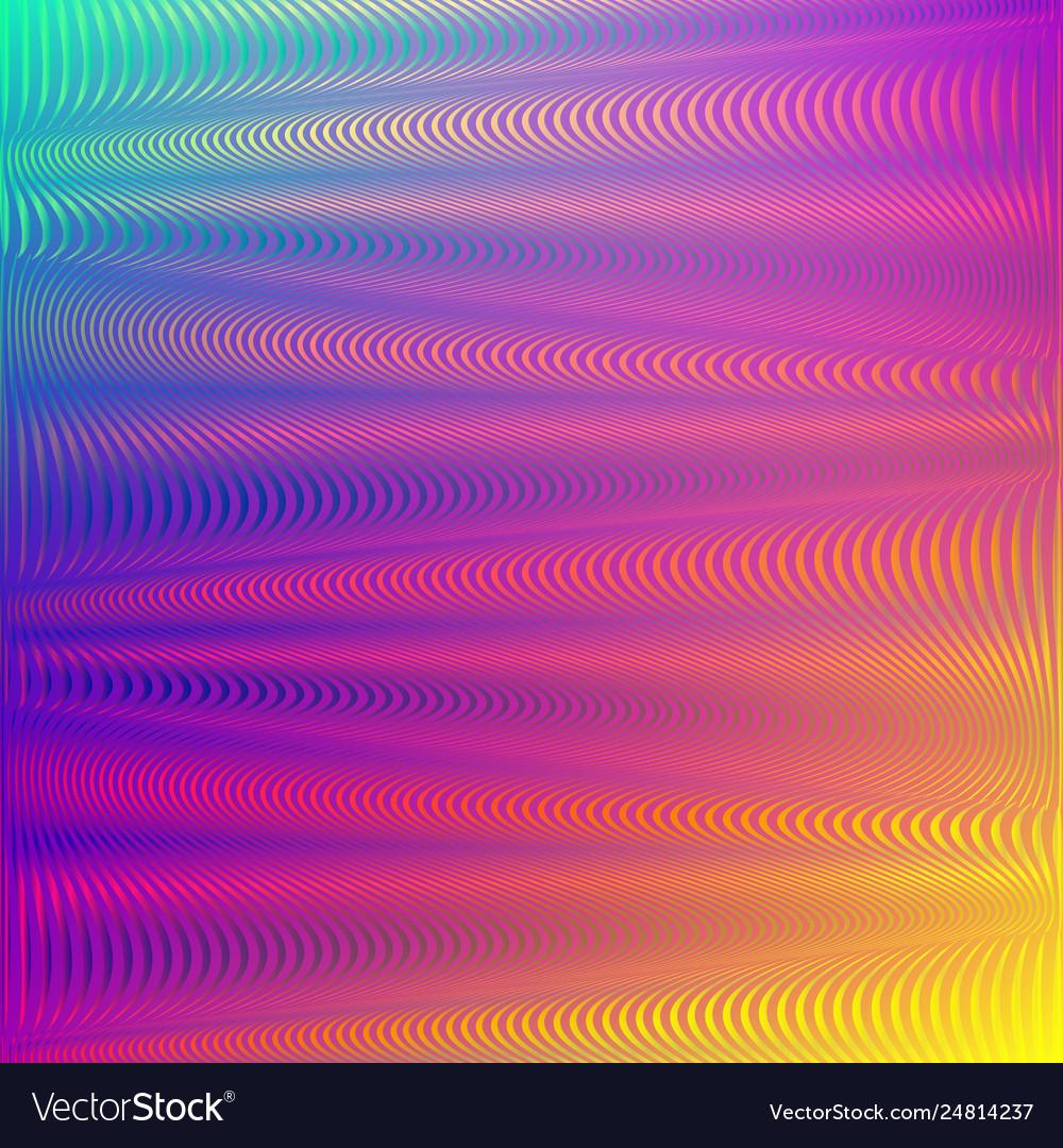 Rainbow gradient background glitch effect