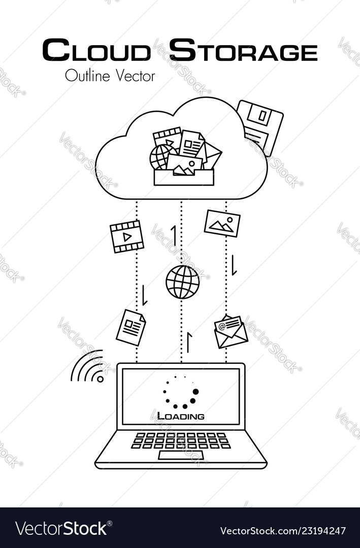 Cloud storage more file was downloaded from