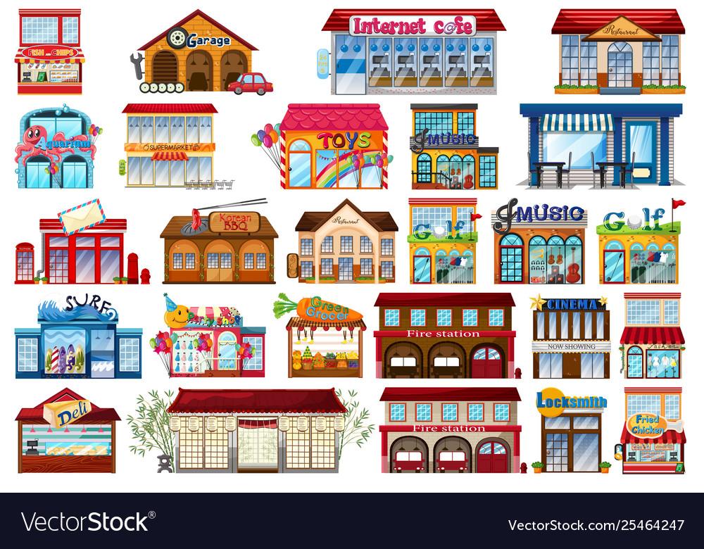 Set shop store