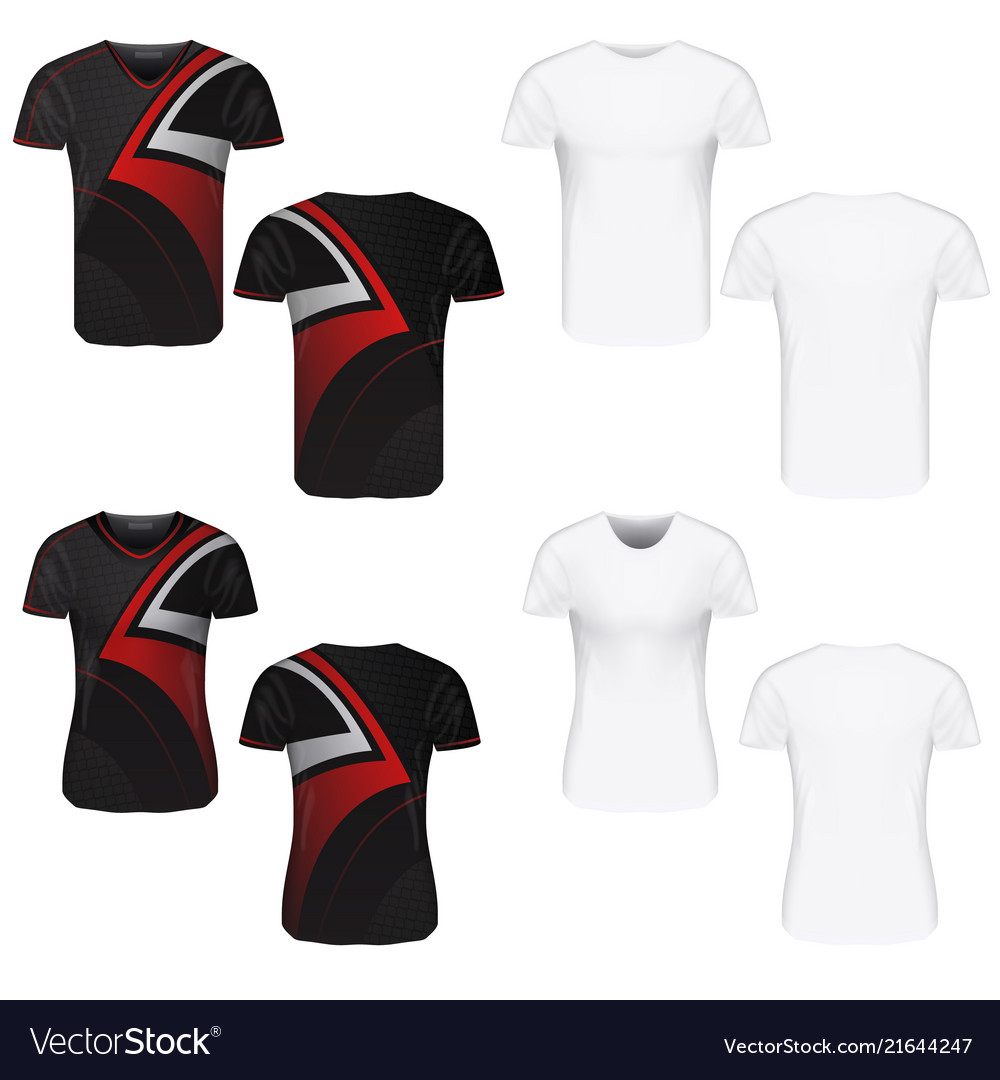 T-shirt clothes on white background