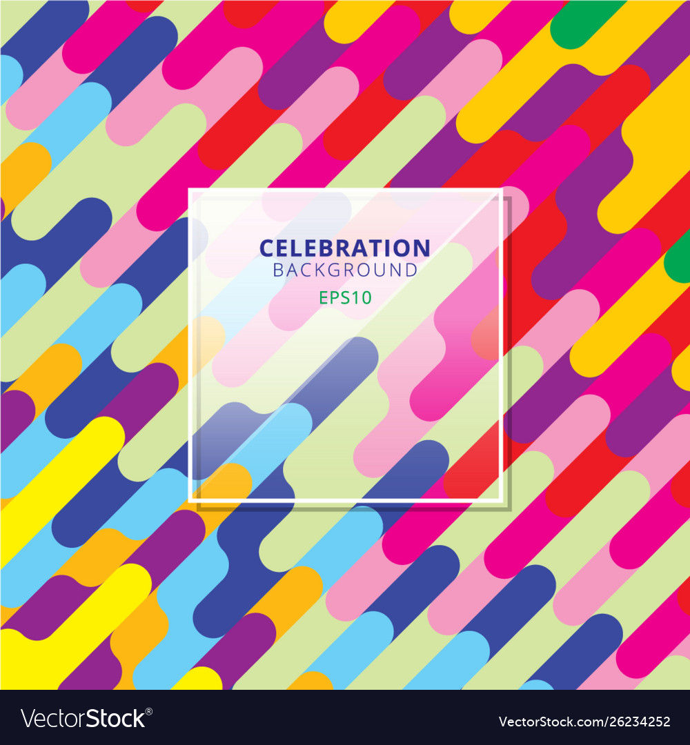 Abstract celebration background colorful diagonal
