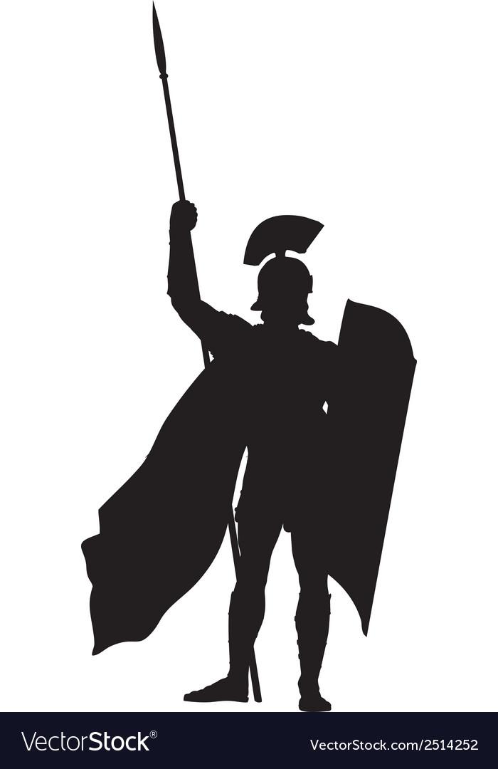 Roman Warriors Theme vector image