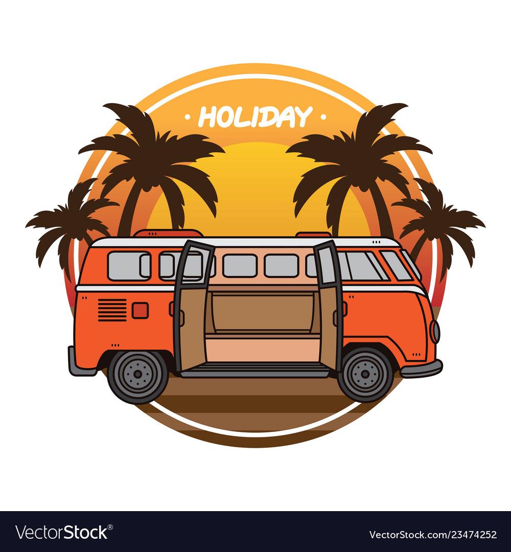 Summer holiday vacation design