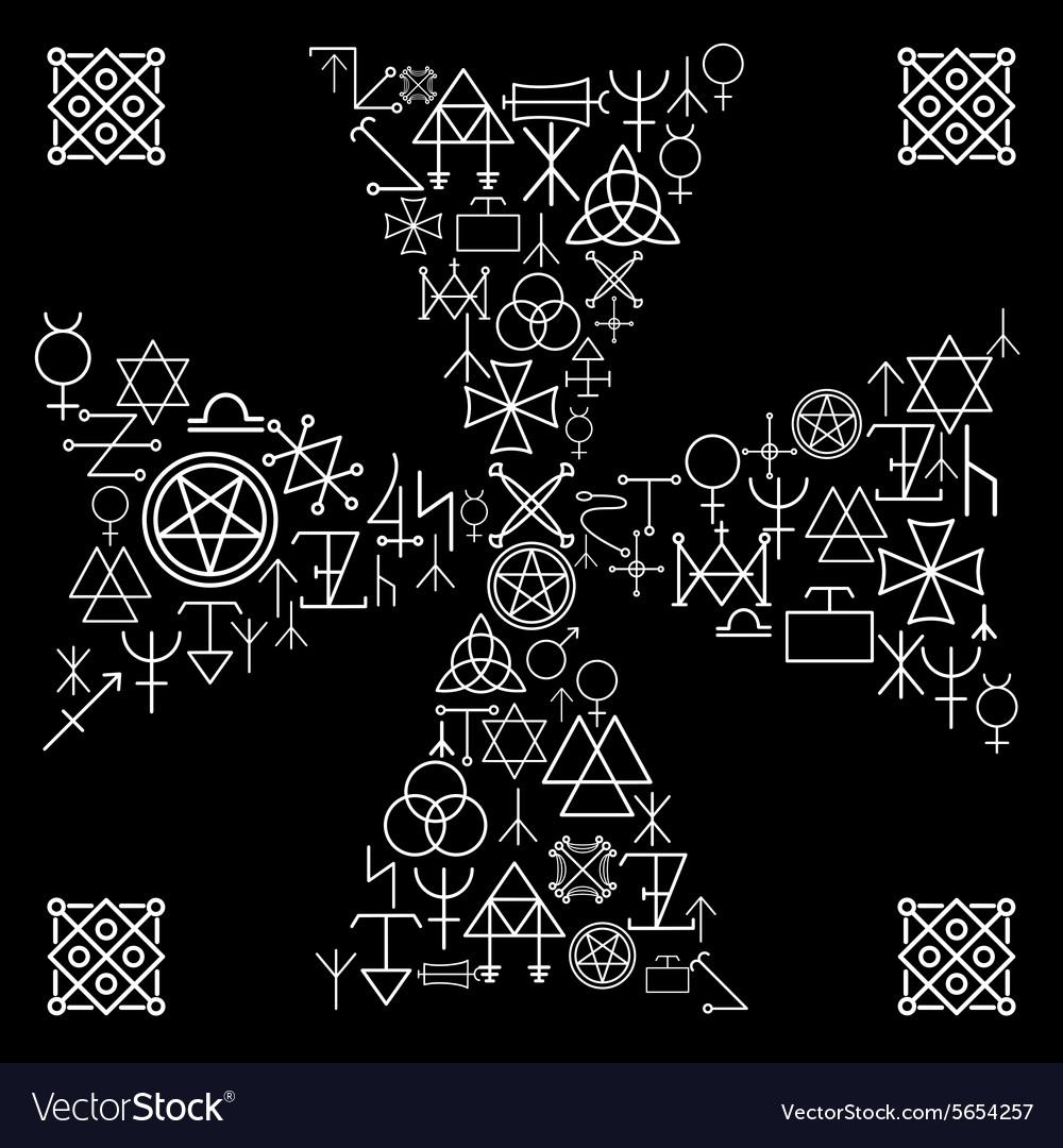Esoteric cross