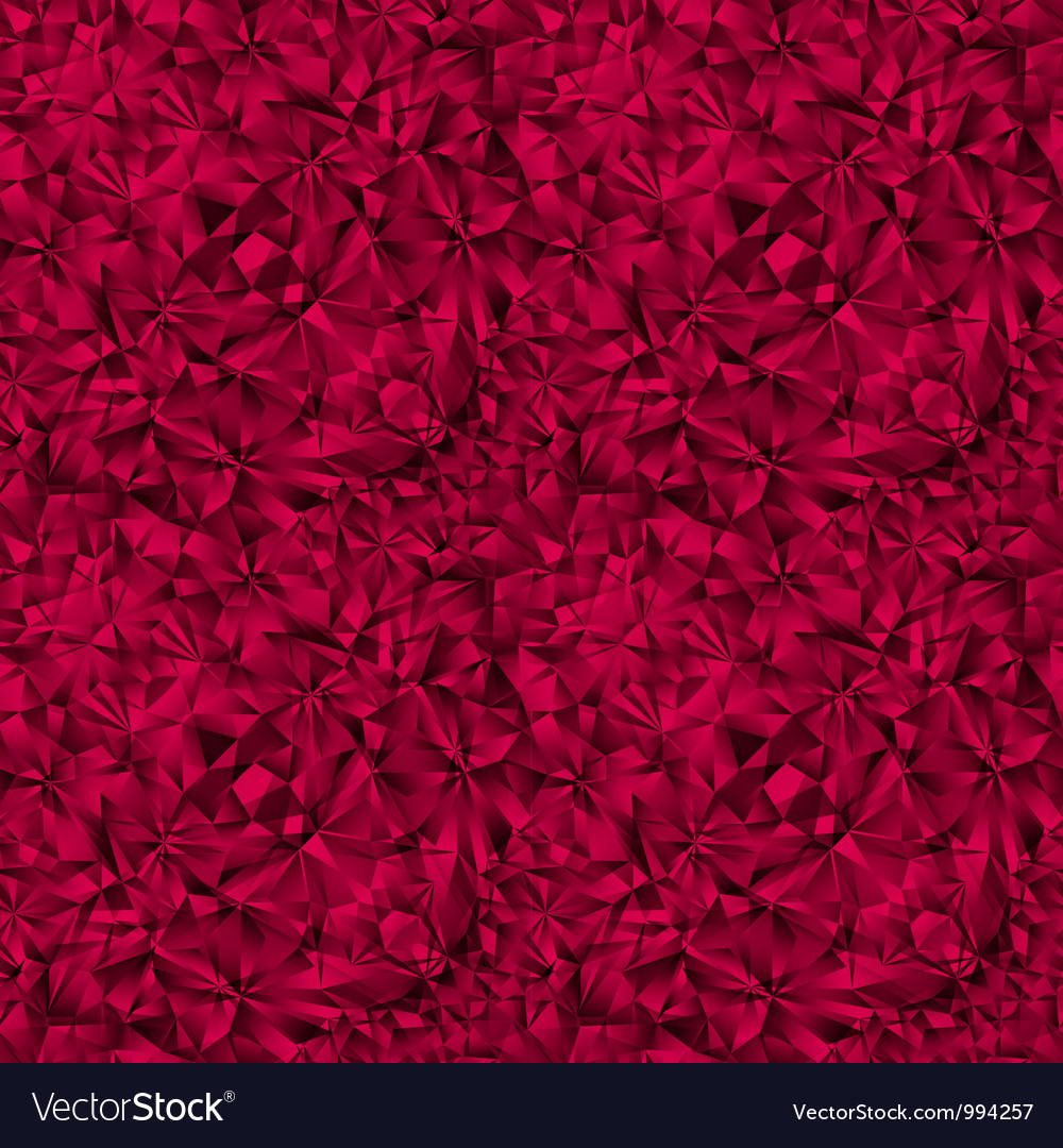 Ruby gem texture seamless pattern vector image