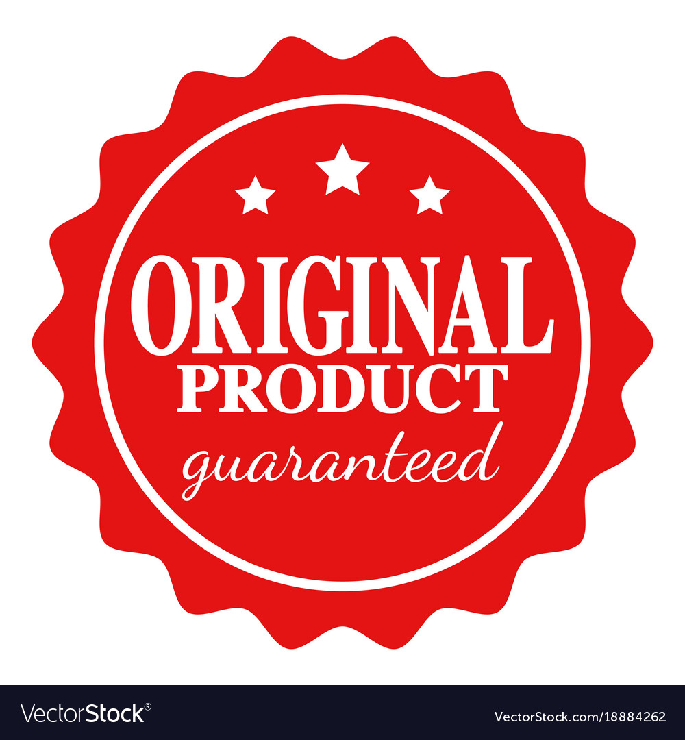 76a091028597 Seal icon of original product guaranteed Vector Image