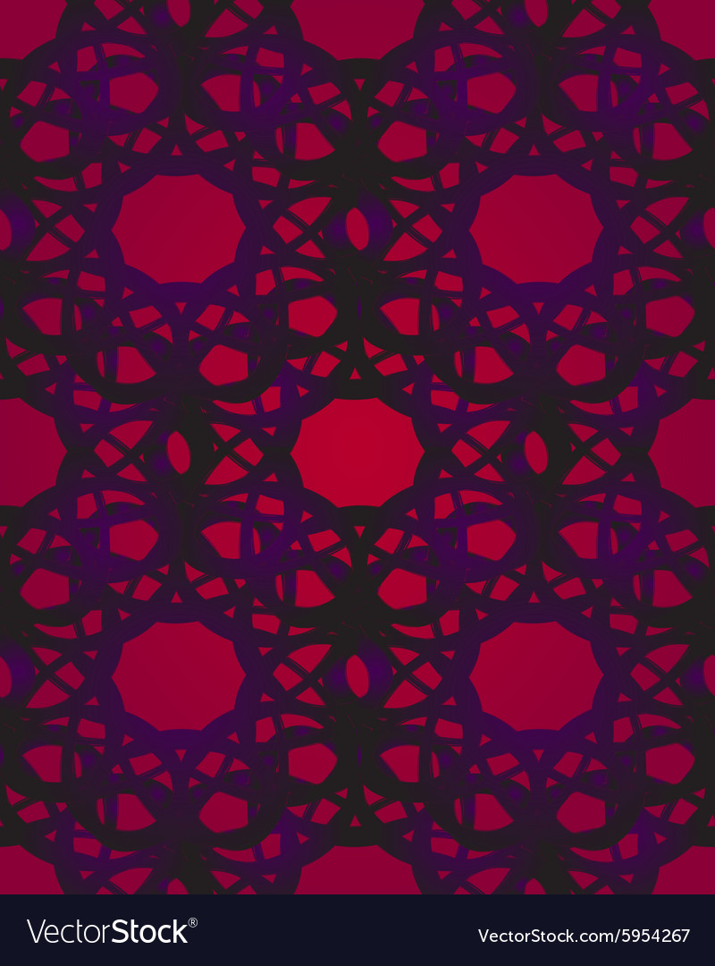 Arabic lace vector image