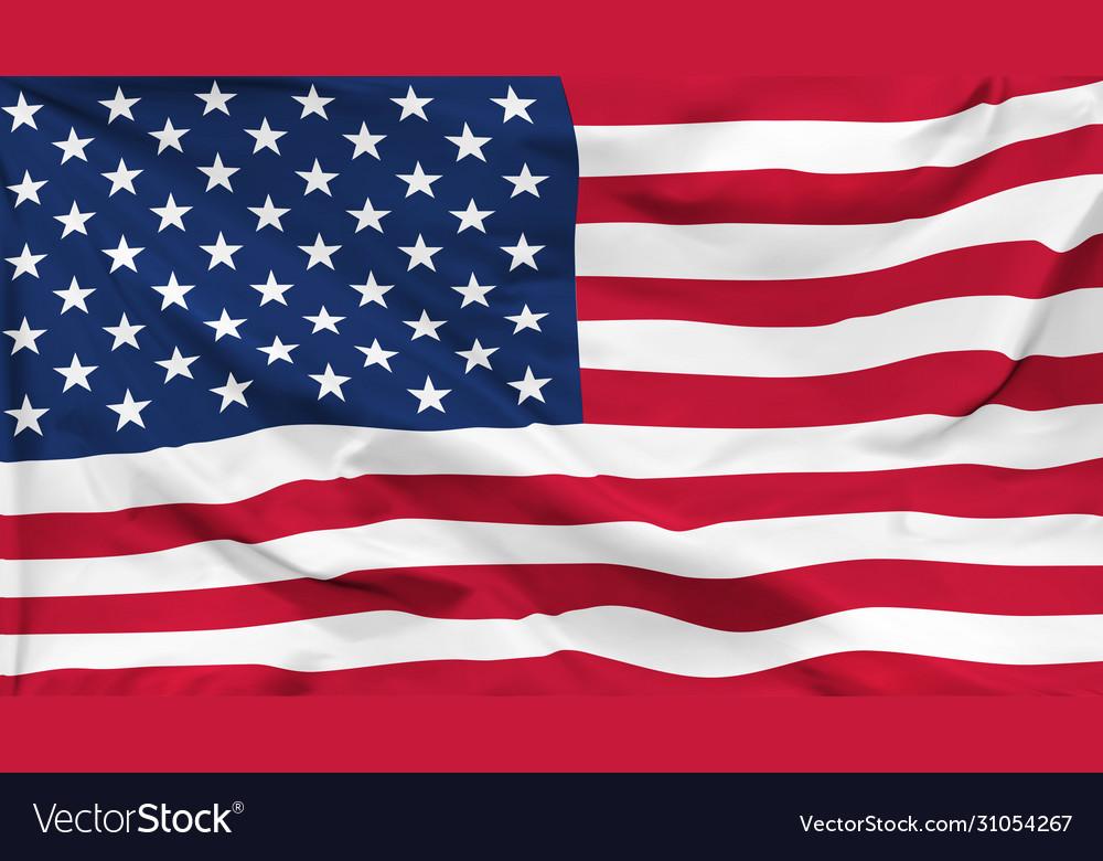 Flag united states america