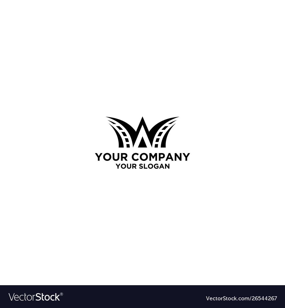Way road logo design