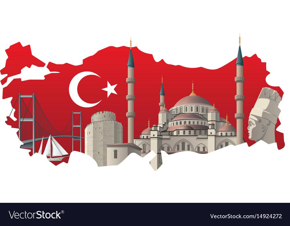 Turkish famous landmarks