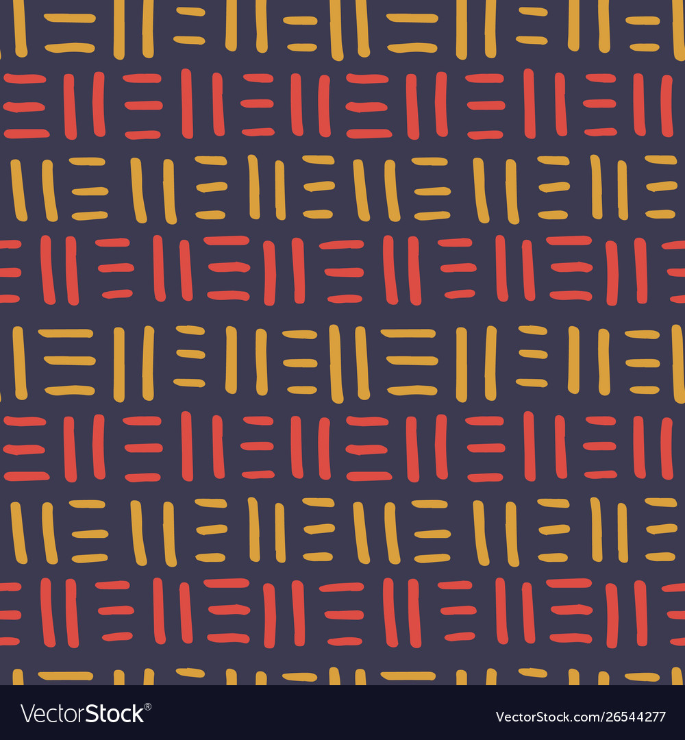 African seamless pattern ethnic tribal ornament