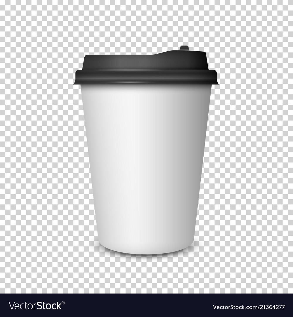 Coffee cup on transparent background