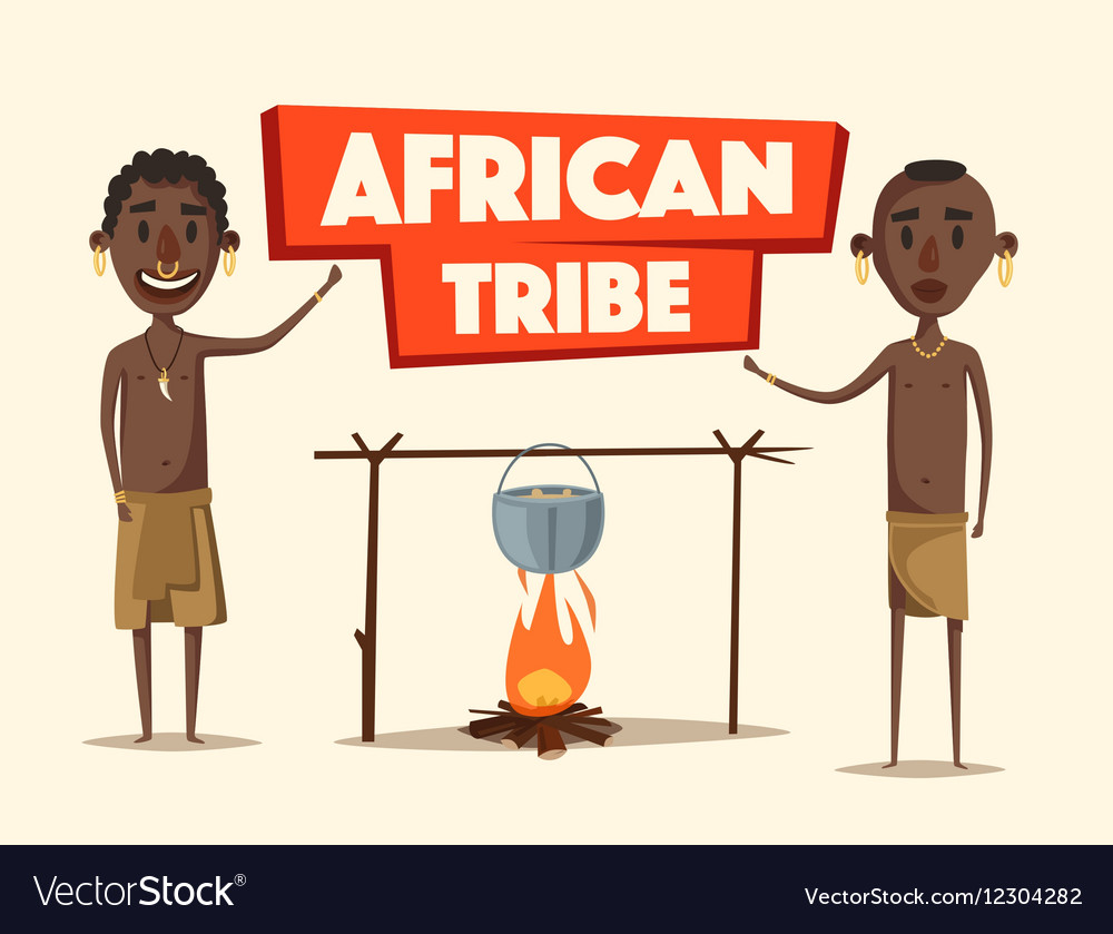 African people Indigenous south American Cartoon