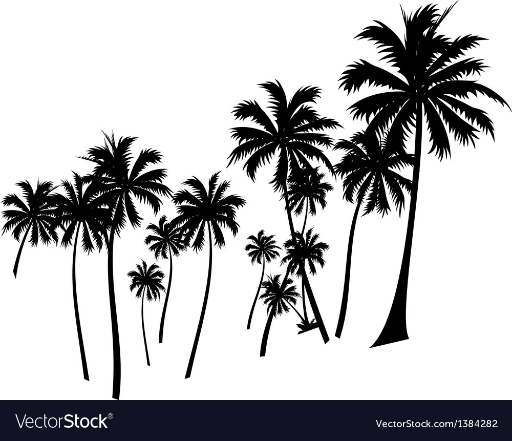 Icon palm tree