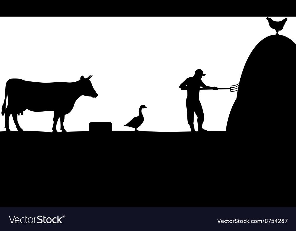 A pet farmer cattleman
