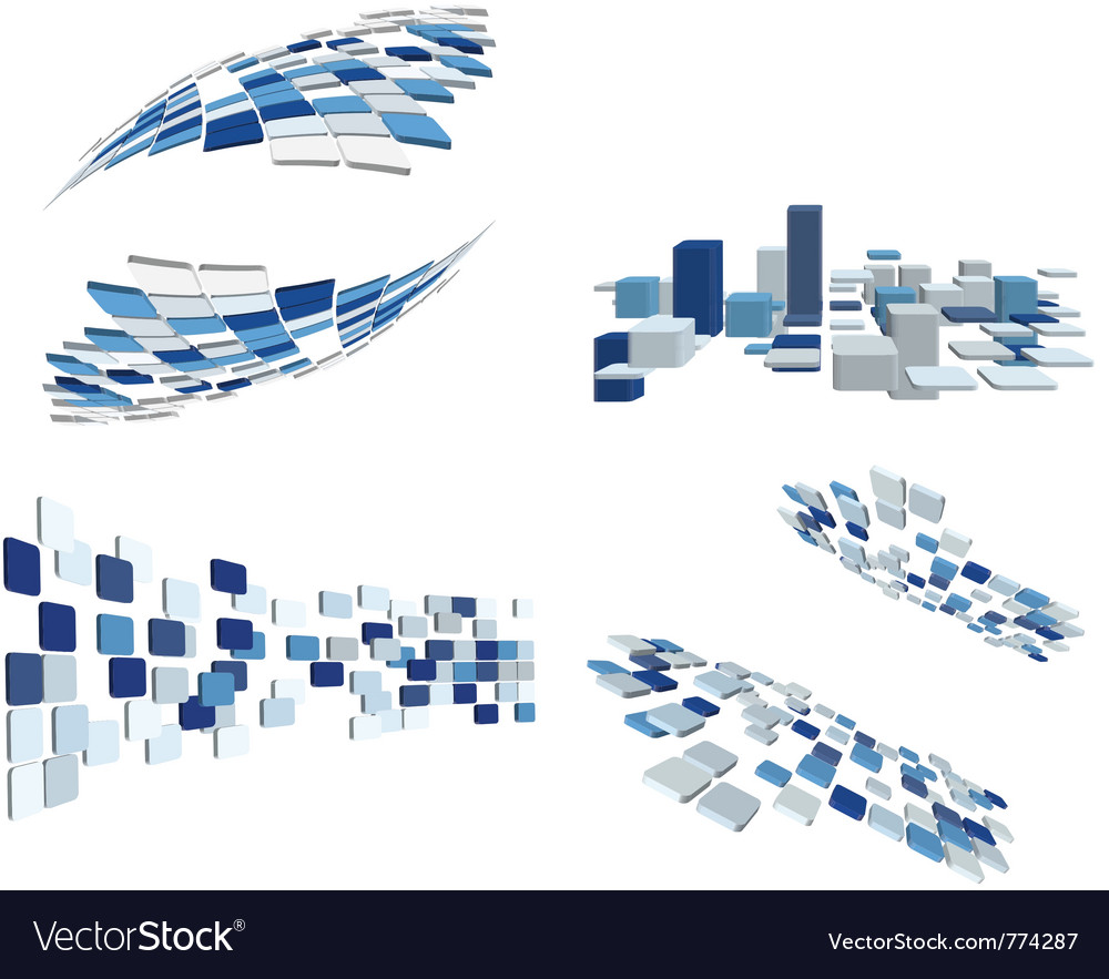 Abstract business elements