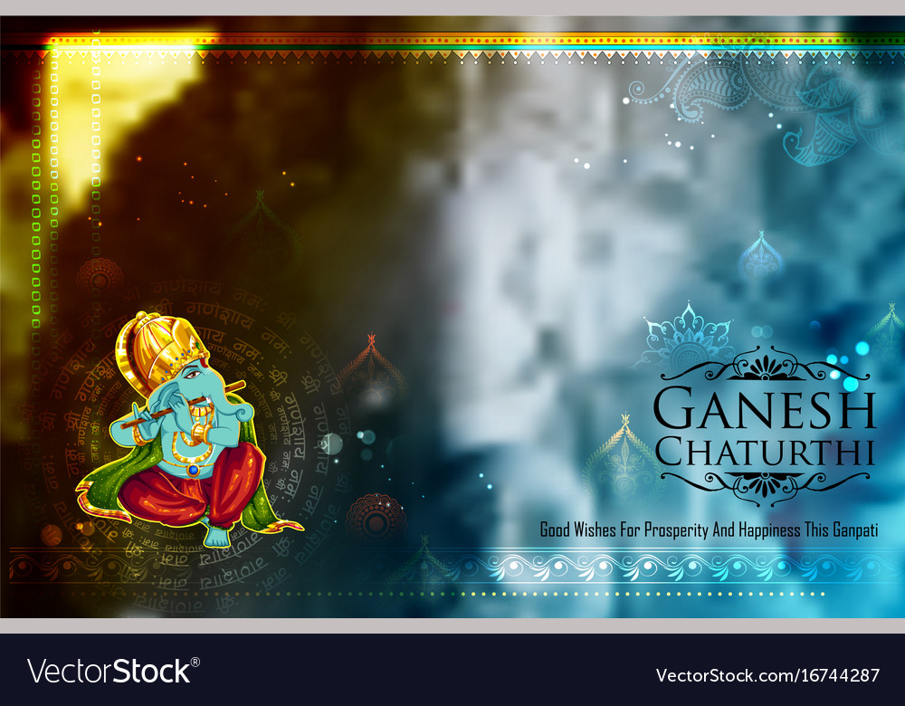 Ganpati Banner Background Design Hd Free Download Vector Psd And Stock Image