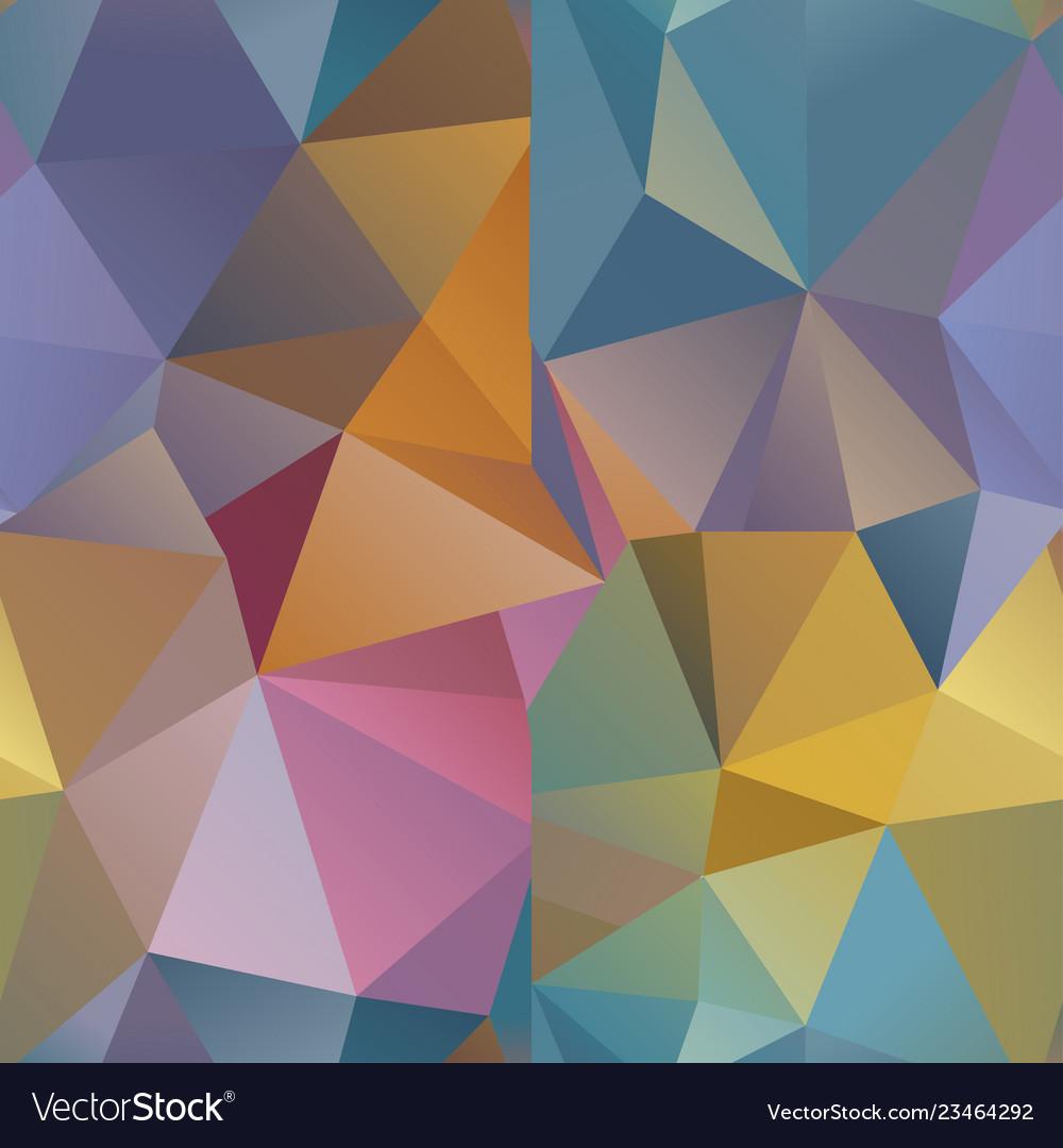 Seamless polygonal geometric pattern