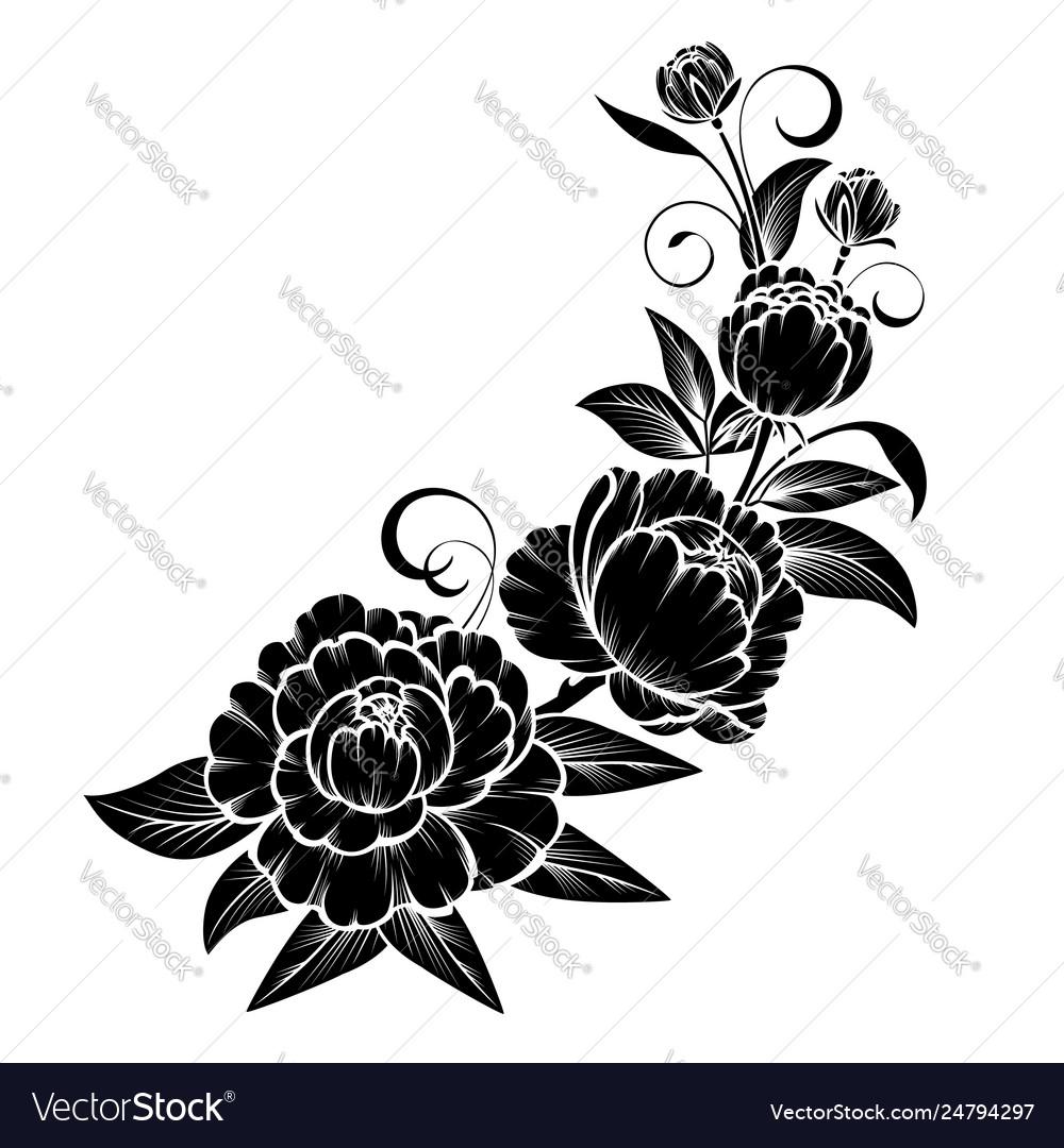 Branch roses