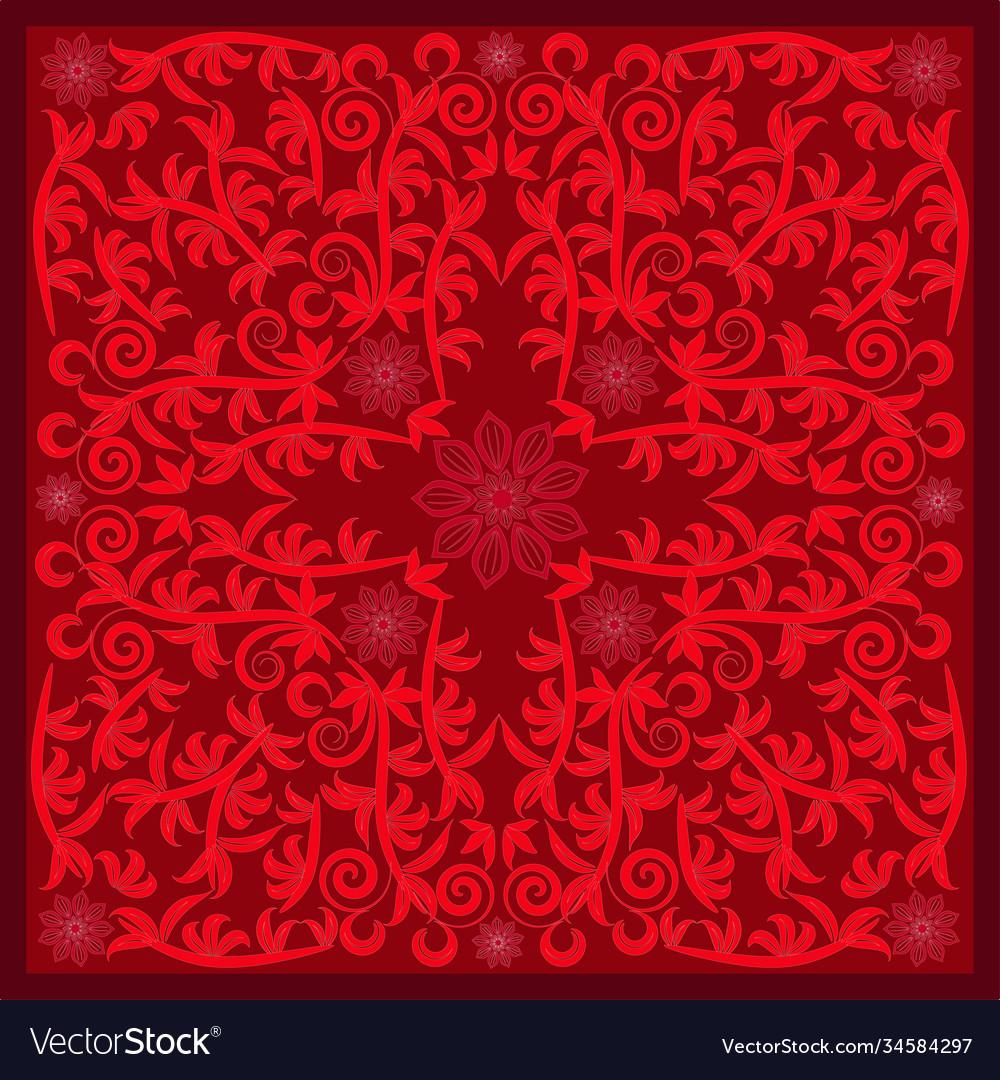 Red bandana image