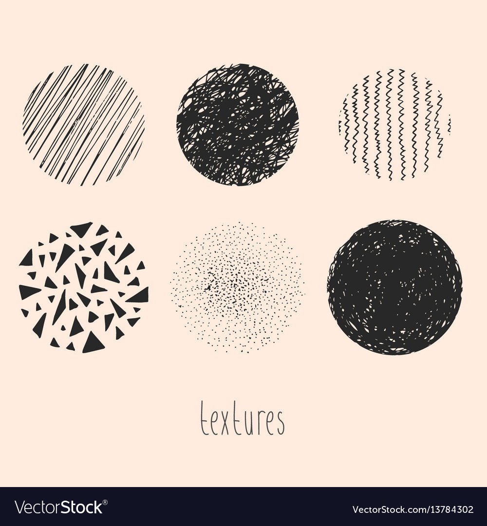 Hand drawn textures and brushes