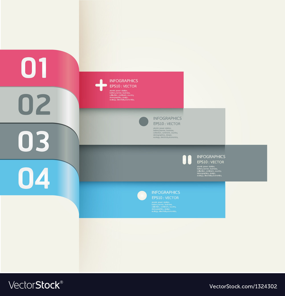 Modern Design template banners vector image