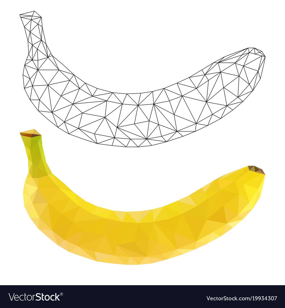 Banana polygonal