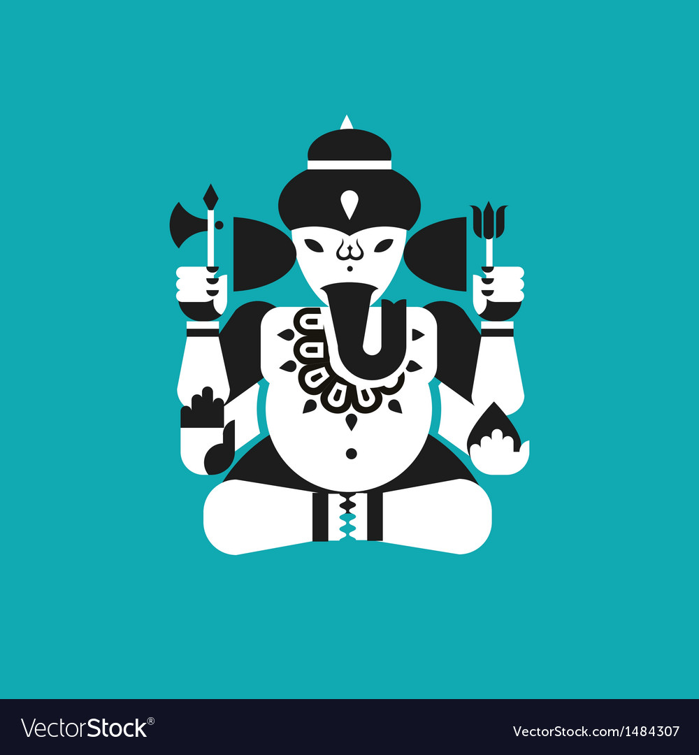 Indian elephant god Ganesha