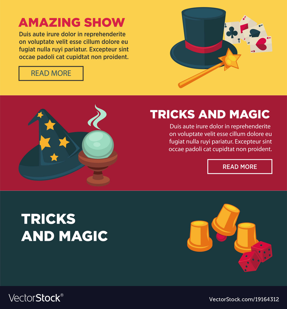 Amazing show with tricks and magics internet pages