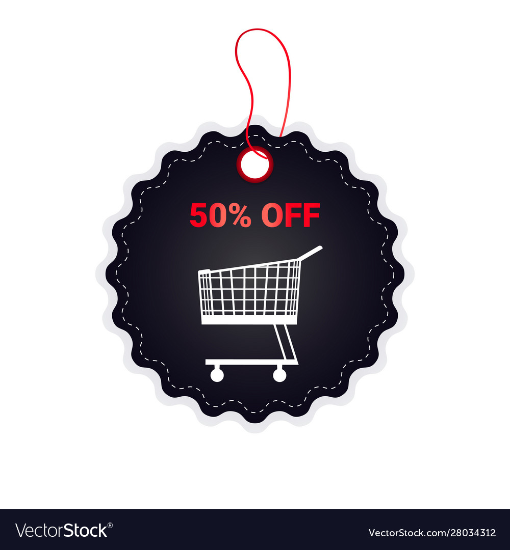 Black friday price tag discount badge holiday