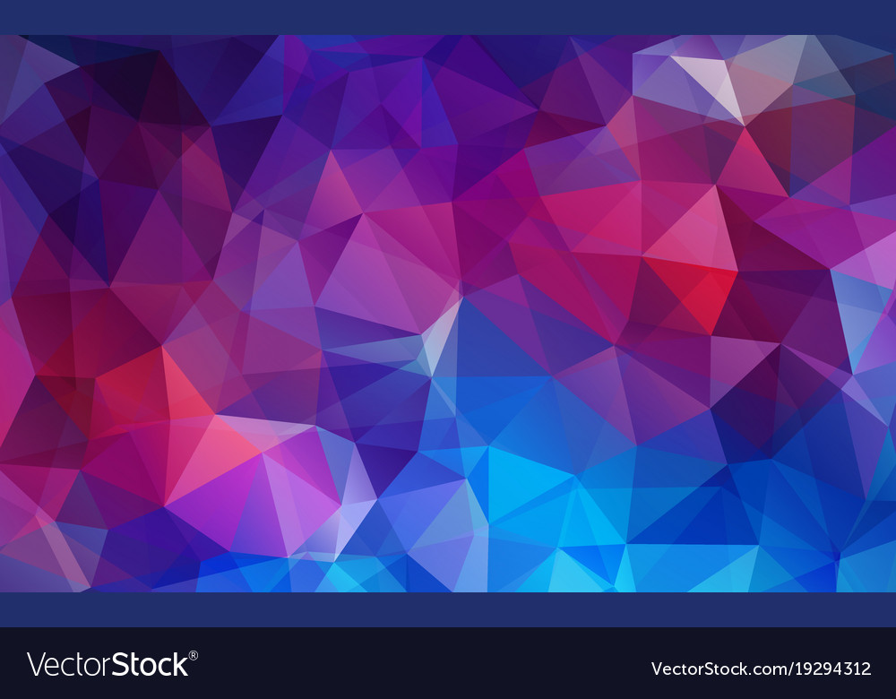 flat violet color geometric triangle wallpaper vector image