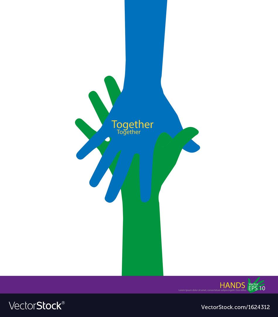 Handshake Teamwork Hands Logo