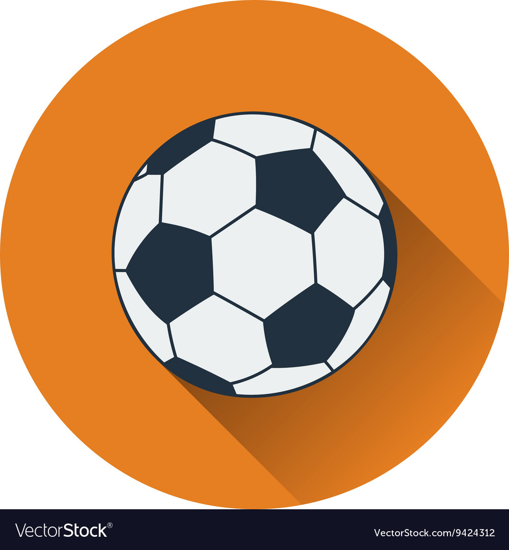 Icon of football ball