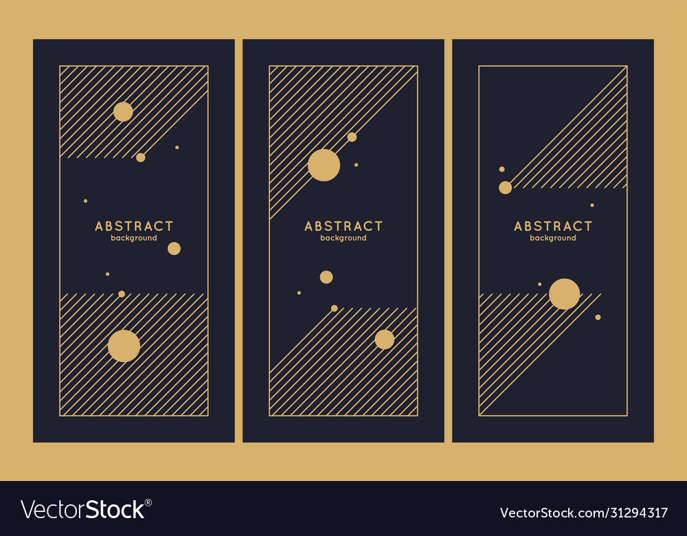 A set minimalistic postcards for text