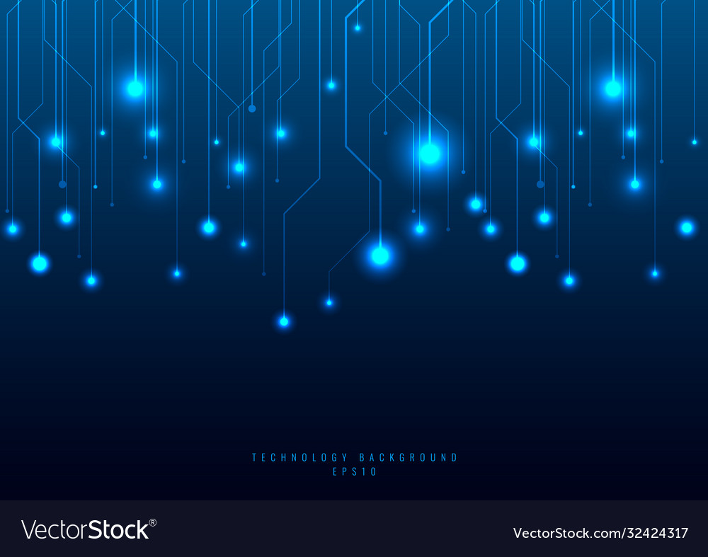 Abstract technology futuristic concept line and