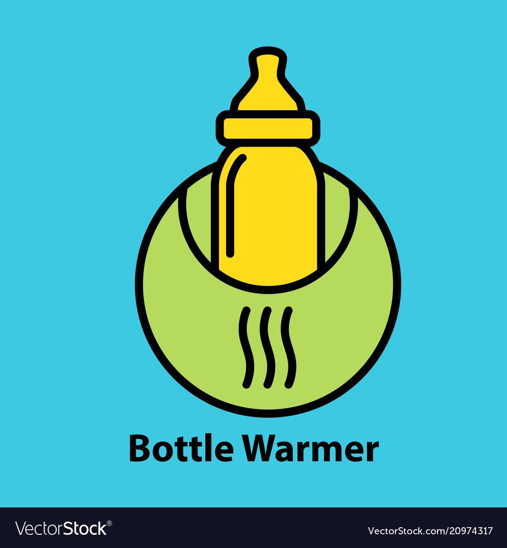 Bottle warmer icon