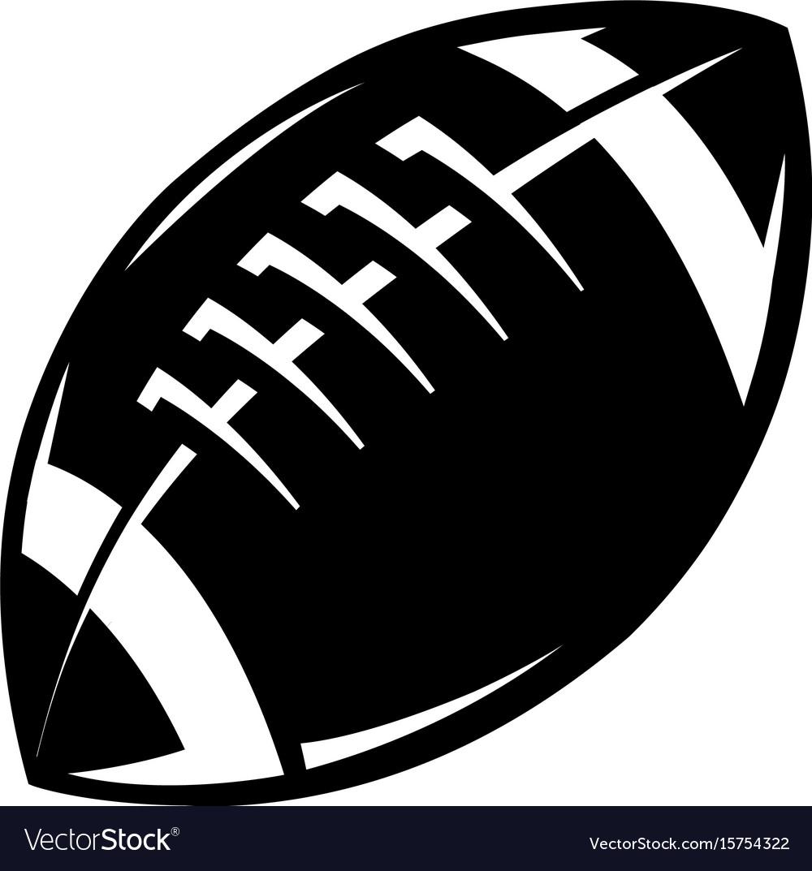 American Football Icon Royalty Free Vector Image