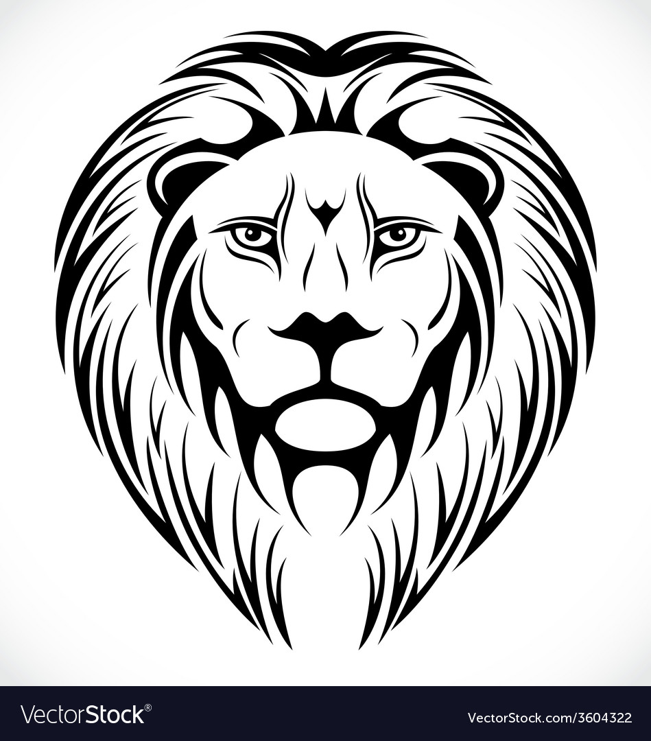 Lions Head Tattoo Design