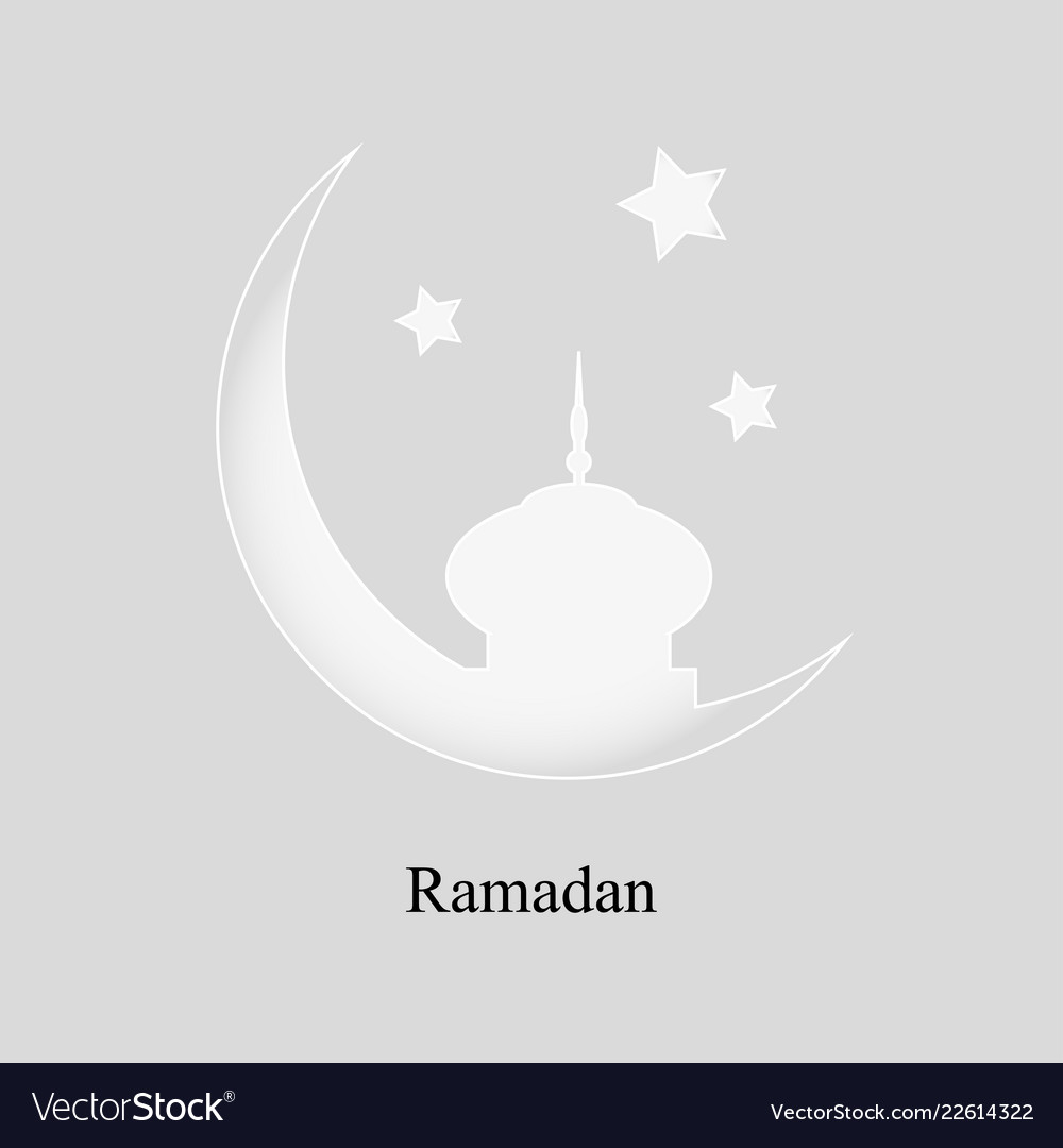 More than a month to the mosque and stars on a