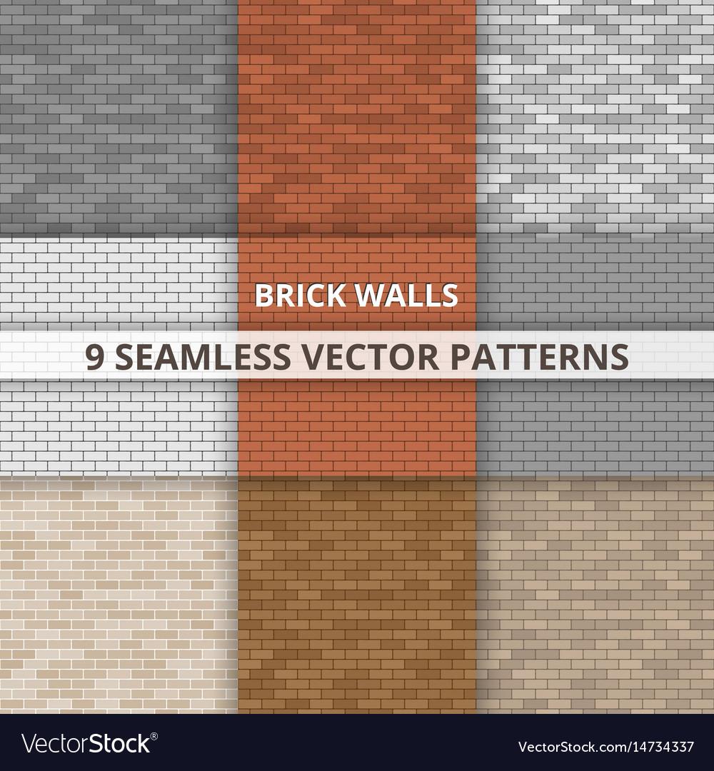 Brick Wall Patterns Unique Decoration