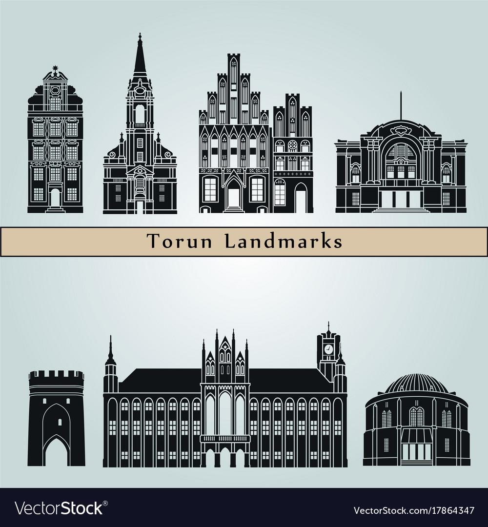 Torun landmarks