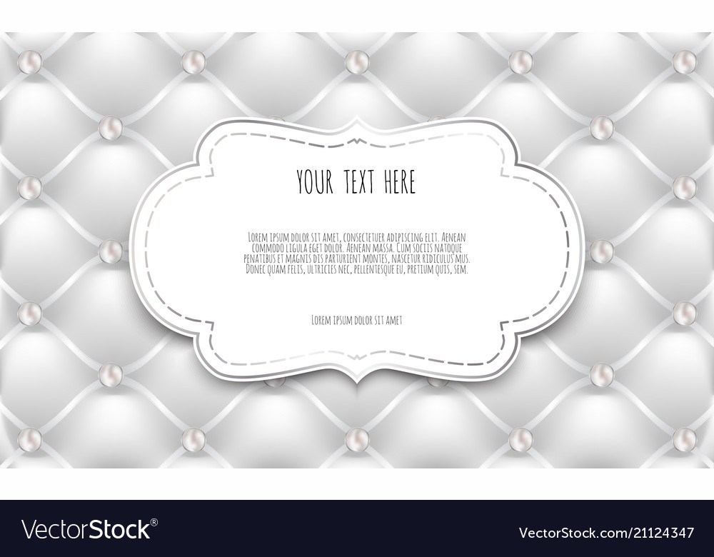 White labels frame border with copy space vector image