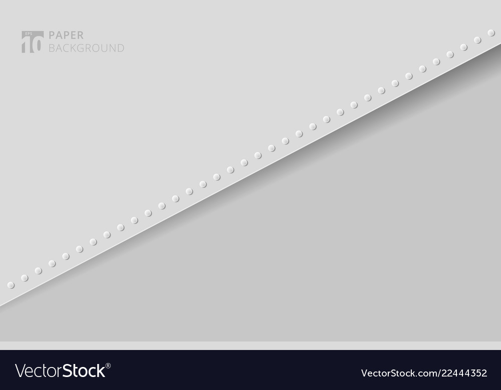 Abstract presentation template paper sheet