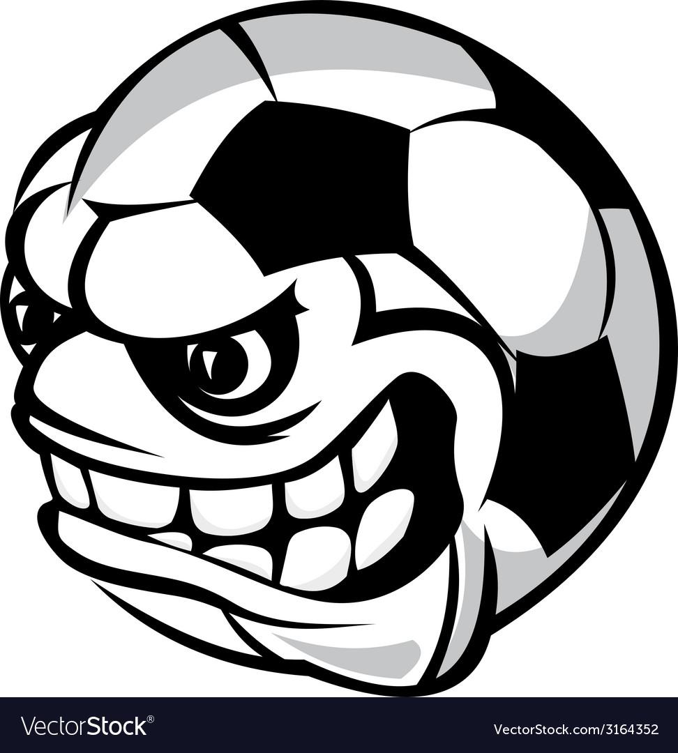 Soccer cartoon ball
