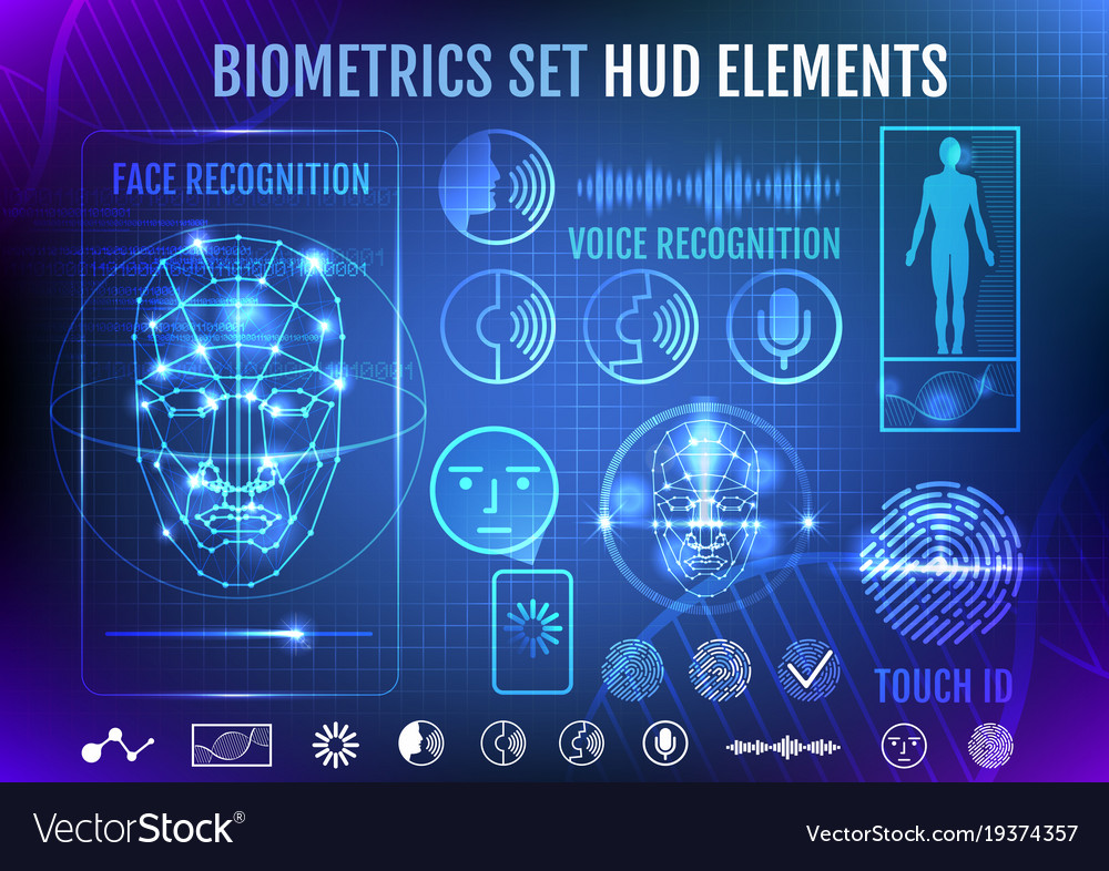 Biometrics set hud elements