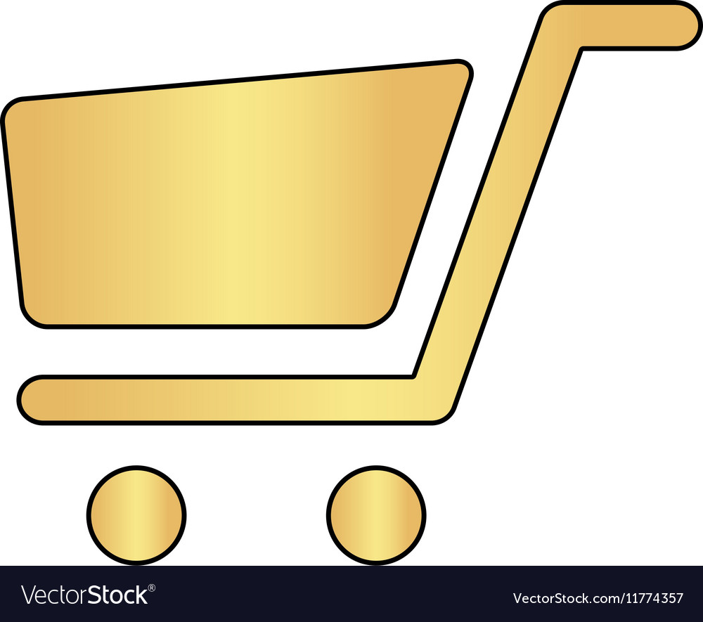 Trolley computer symbol