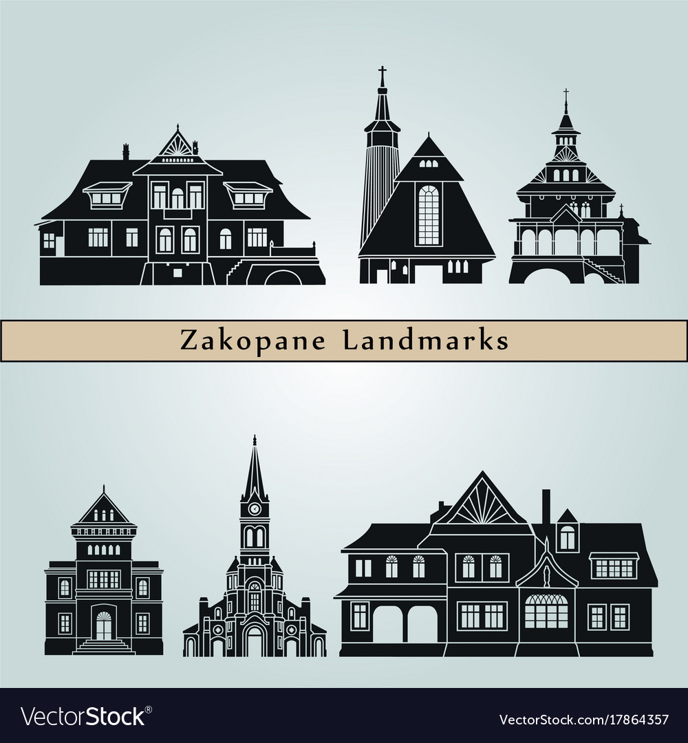 Zakopane landmarks