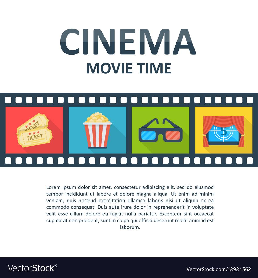Cinema background template